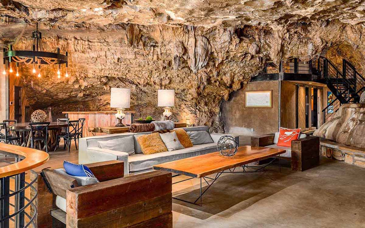 It's a Resort in a Cave, and You and 15 Friends Can Stay in It