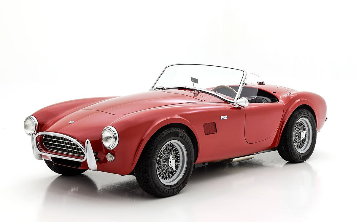 You Won't Find a More Well-Preserved Shelby Than This '63 Cobra Roadster