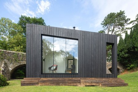 These Scandinavian-Style Prefab Cabins Involve Saunas, Outdoor Showers