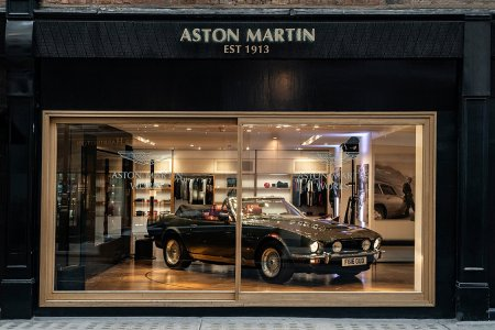 Add Aston Martin's New 'Heritage Shop' to Your Classic Car Bucket List