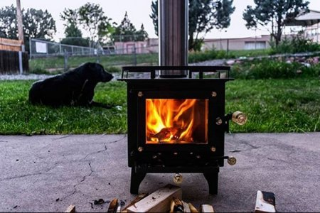 A Wood Stove Built for Campers, Boats and All Manner of Tiny Living Quarter