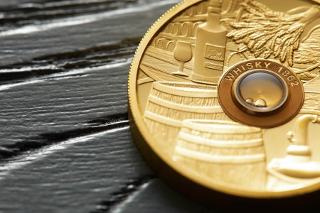 Forget Crypto. Get Yourself a Golden Coin Infused With Antebellum Whisky.