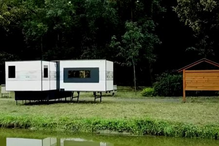 This Expanding Camper Will Turn Your Van Into a Full-Blown Apartment