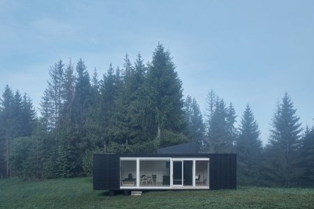 Ark Shelter's New Cabin Lets You Choose Your Own View