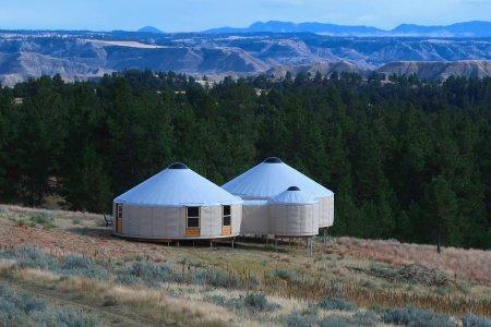 You Can Trek Around Montana via These Solar-Powered Yurts
