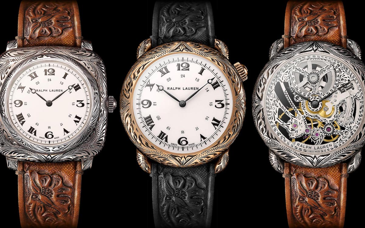 Calling All Rhinestone Cowboys: Ralph Lauren Now Does Western Watches