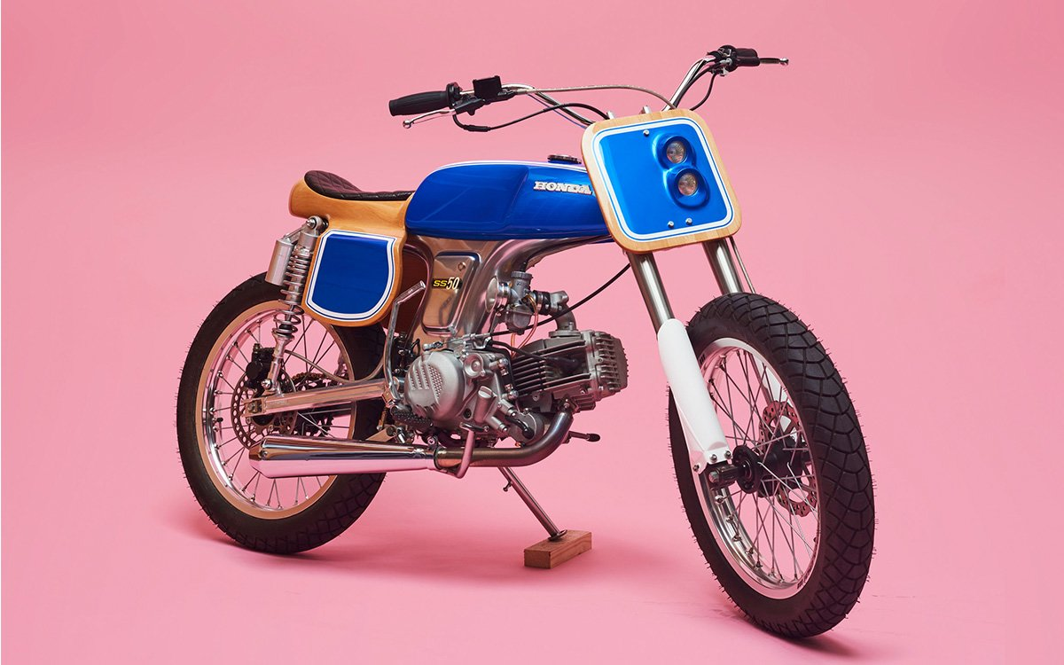 Don't Call It a Moped — This '72 Honda Goes by 'Wild Horse' Now