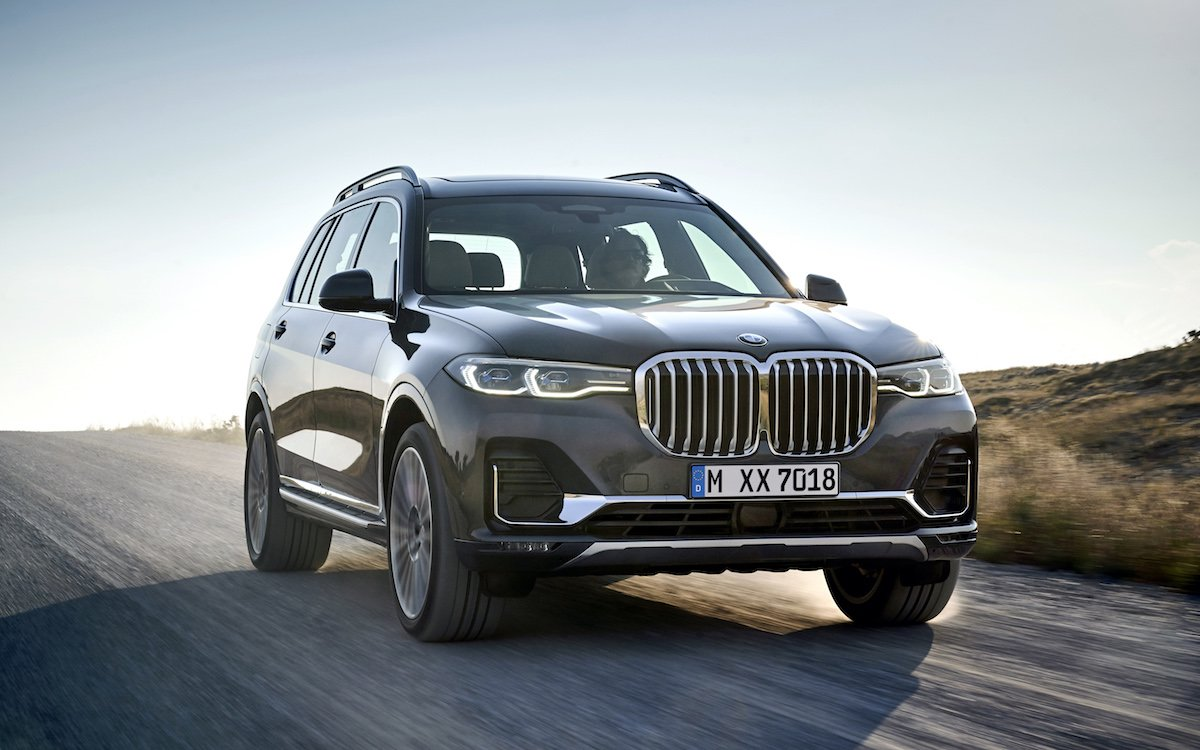 BMW's New X7 Checks the Boxes: Big, Bold and Built in America