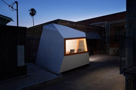 This Micro Office Is Equal Parts Minimalist and M.C. Escher