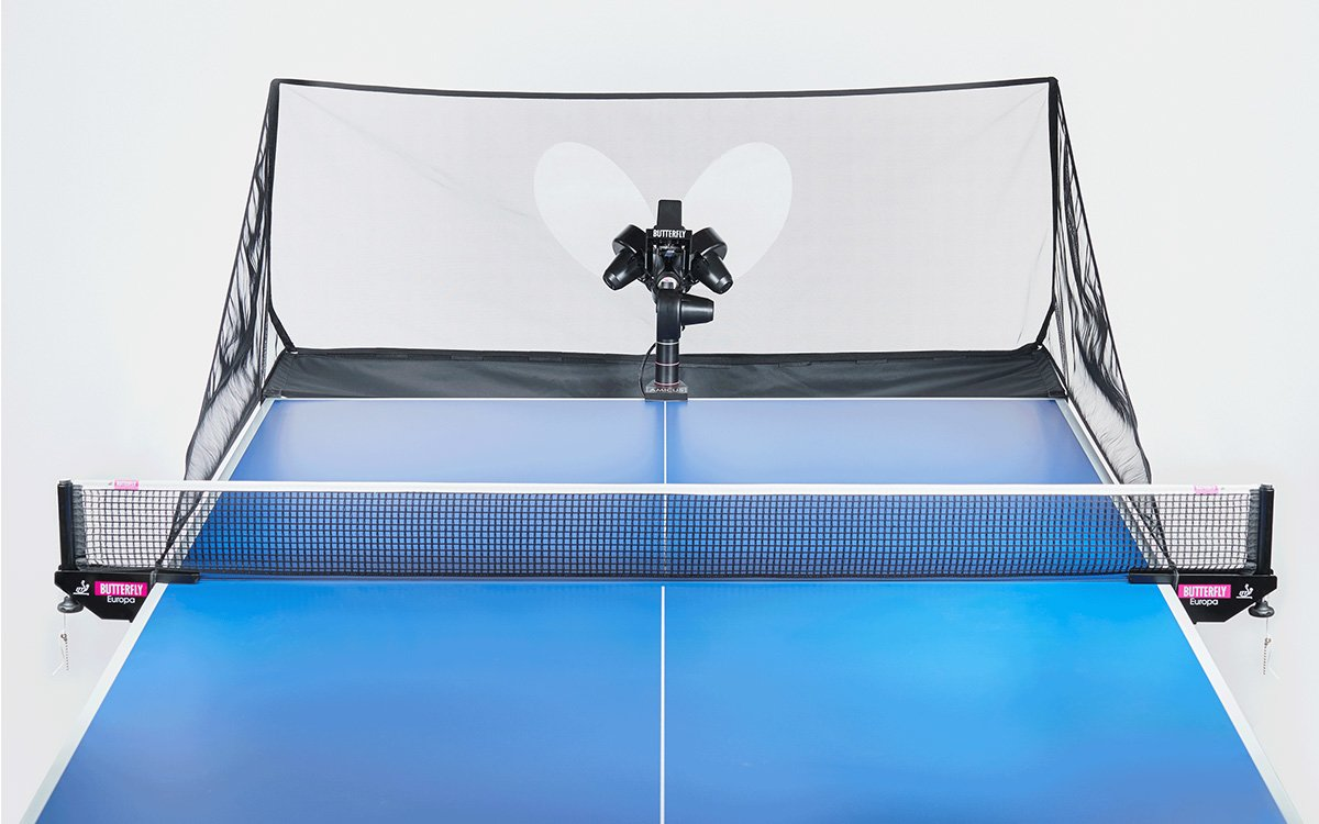 This Ping-Pong Robot Will Feed You 120 Balls a Minute