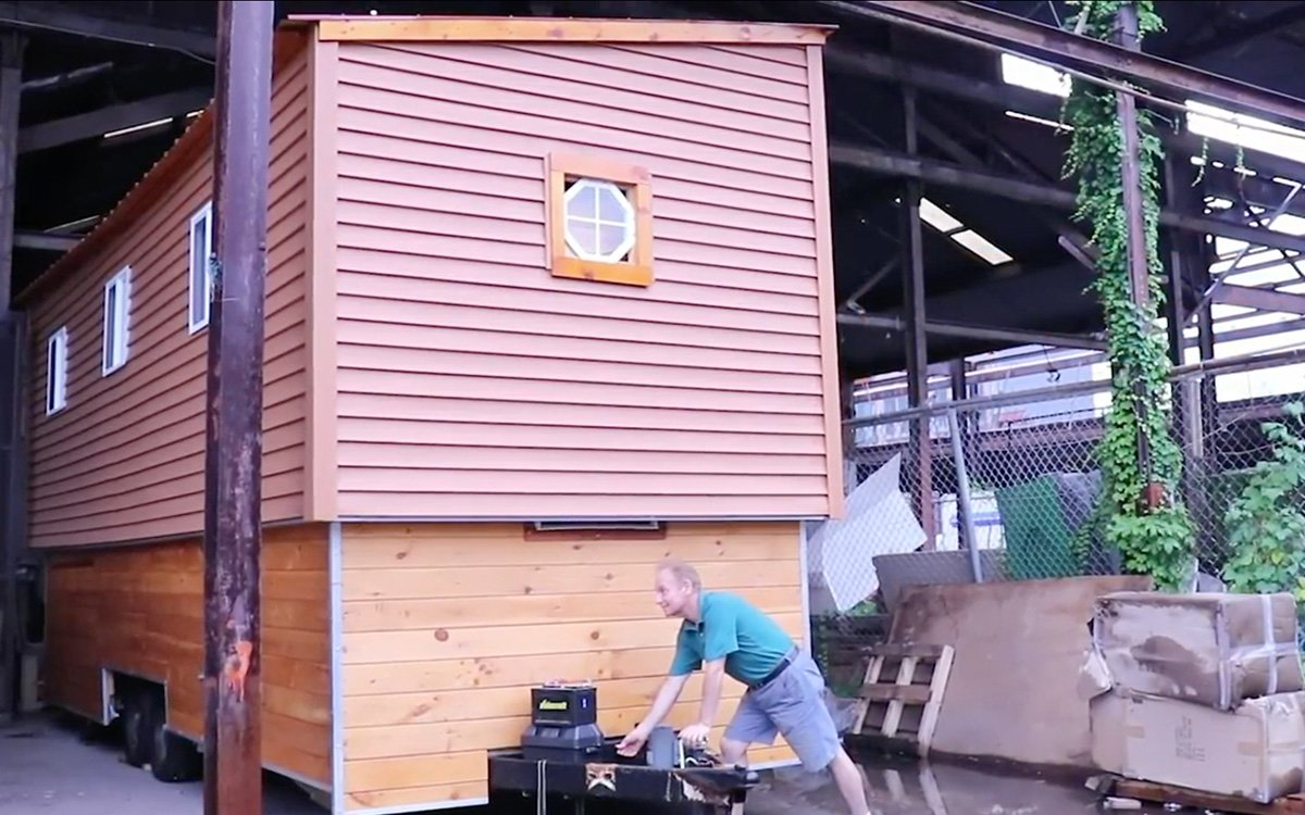 Pop Goes the Hidden Second Floor of This Tiny Home, Apparently