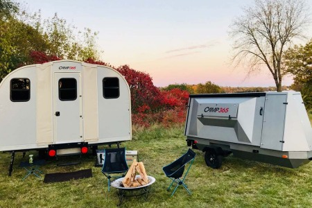 Trailer to Cabin in Under Ten Minutes? Meet the Optimus Prime of Campers.