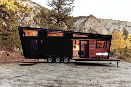 Don Draper-Inspired Tiny Home Comes With a Fold-Out Smoking Deck