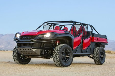 Honda Just Wed a Pickup and a Dune Buggy Into One Believable Whole