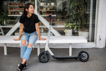 Try As We Might, We Can't Hate on This Aircraft-Aluminum Electric Scooter