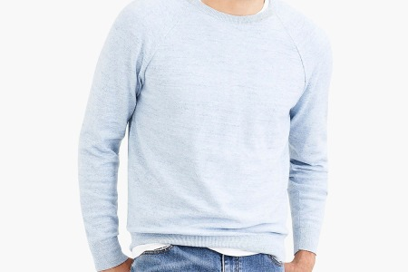 I Can't Wear This Cotton Crewneck Enough. You Can Get it On Sale for $30.