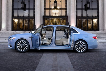 Lincoln Just Put Suicide Doors Back on the Continental