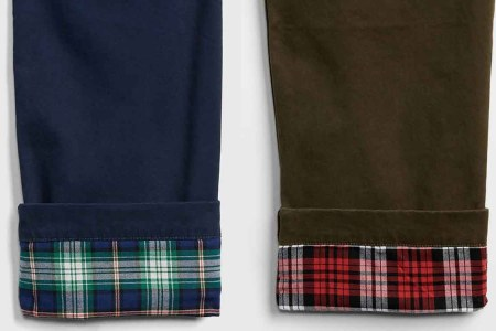 Gap's Got Flannel-Lined Khakis at 75% Off. This Is Not a Drill.