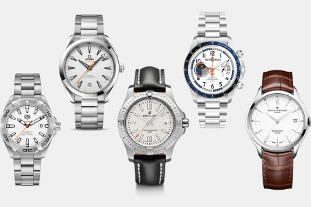10 White-Dial Watches to Brighten Up Your Life
