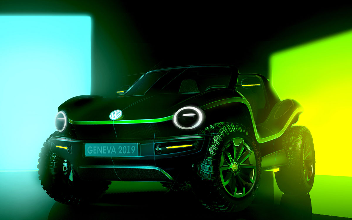 Volkswagen's Making an Electric Buggy Based on '60s California Models