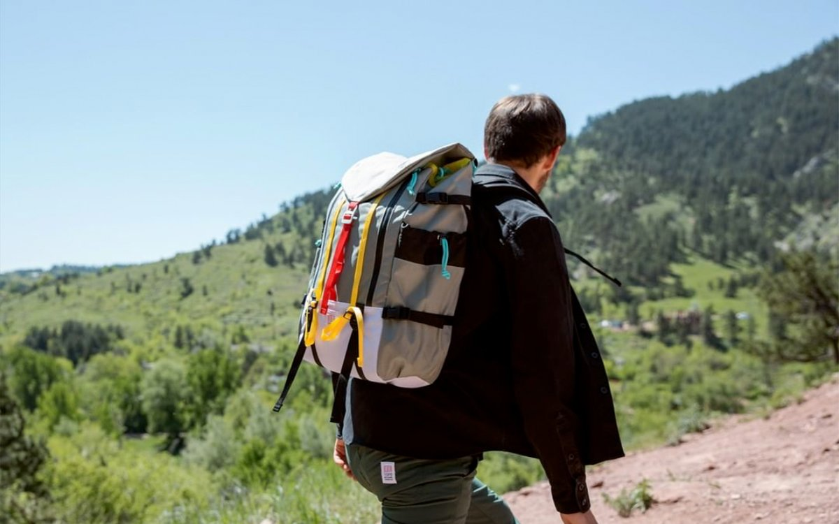 Take 35% Off Topo Designs' Colorful Duffels and Fleeces