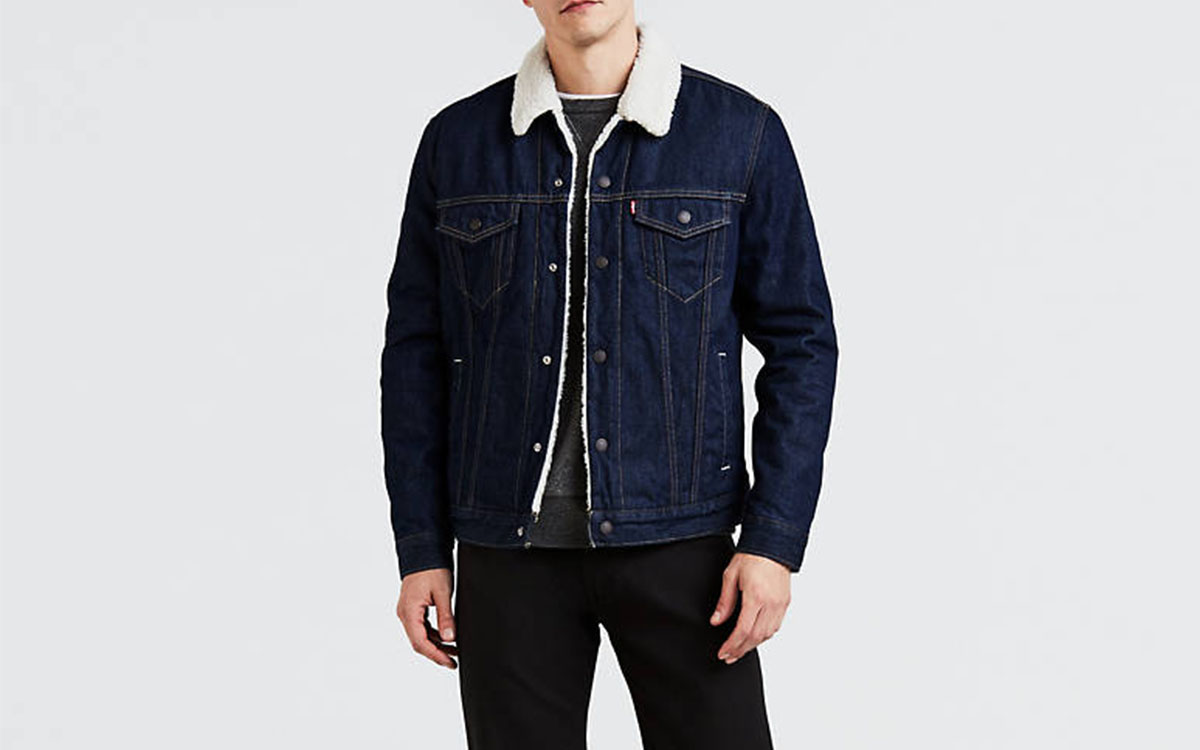 Take 30% Off a Levi's Sherpa Trucker Jacket This Weekend