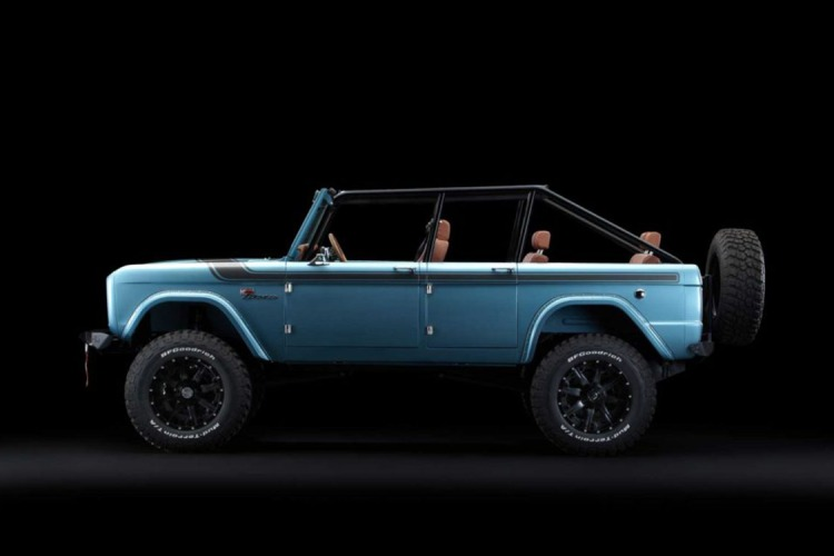 Here's a Vintage Four-Door Bronco. Remain Calm.