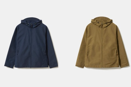 Everlane's New Raincoat Is a Rugged Beaut Made From Recycled Plastic