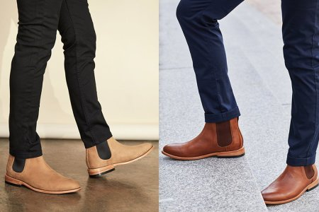 Take $110 Off a Pair of Nubuck Leather Chelsea Boots