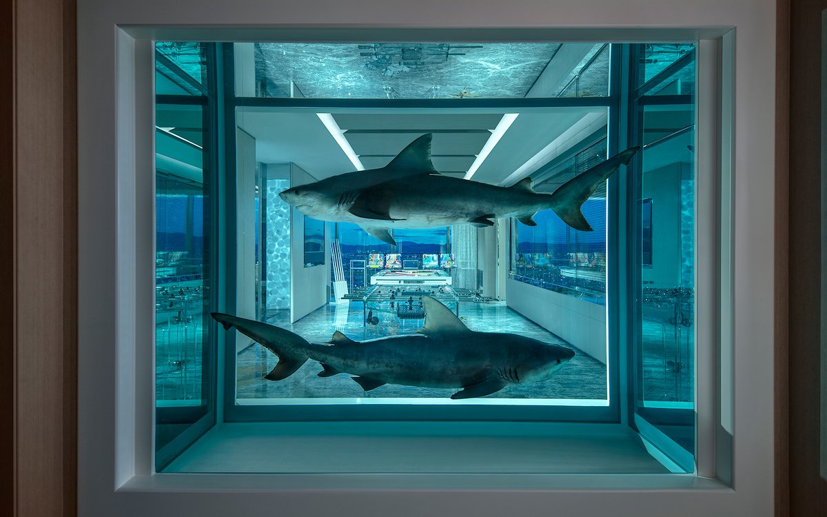 Is Damien Hirst's Hotel Room the Worst Way to Blow $200K in Vegas?