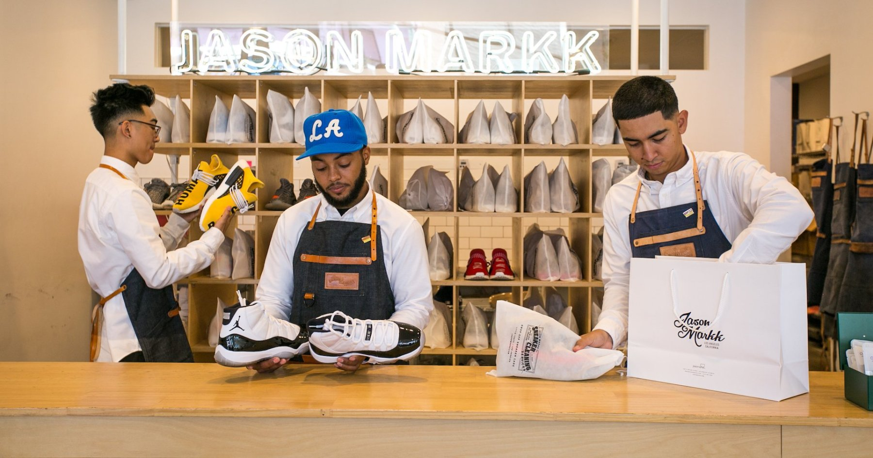 Jason Markk Names the 5 Best Sneaker Shops in LA