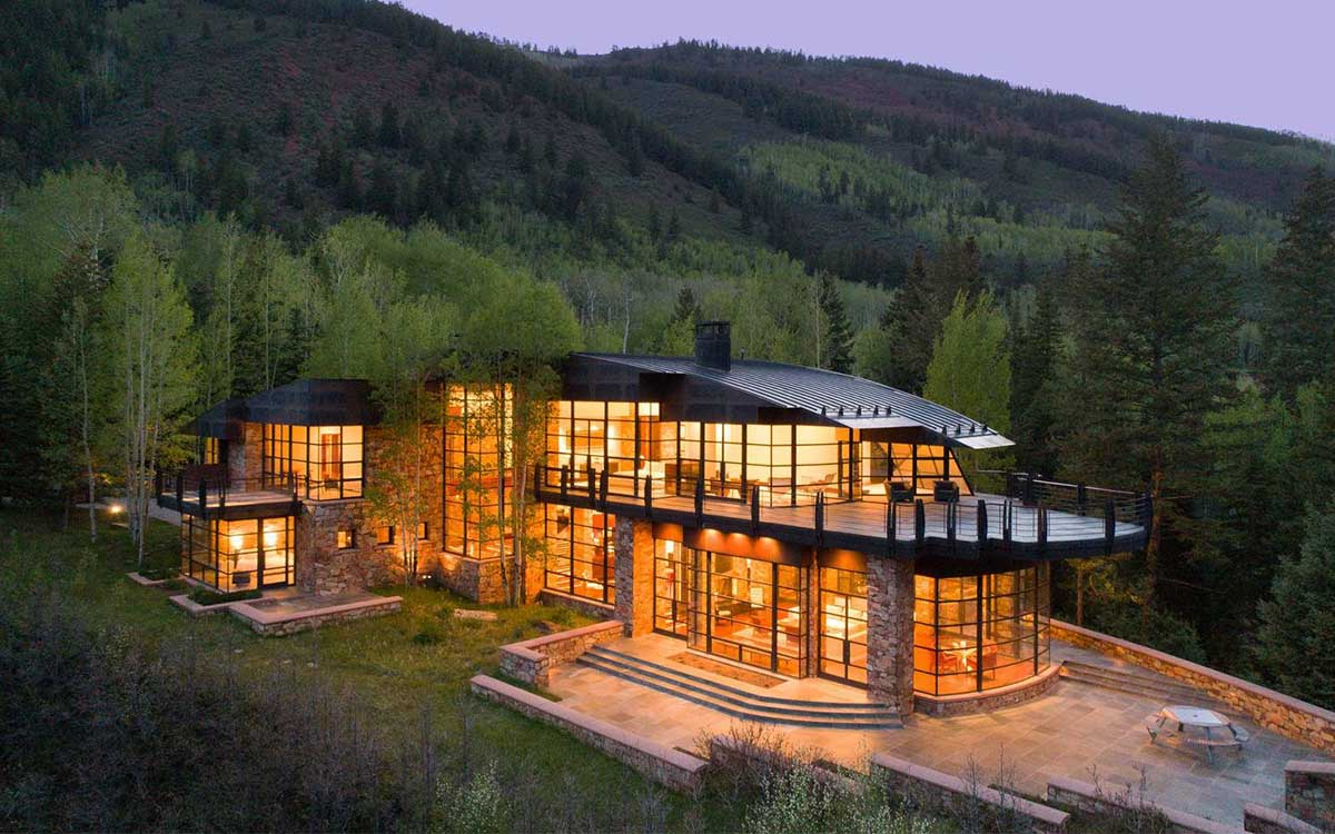 Here's What a $26.5M Aspen Mansion Looks Like