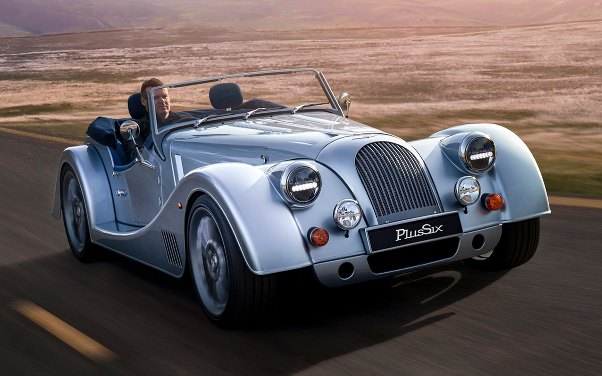 Morgan's New Sports Car Is Turbocharged, BMW-Powered and … Automatic?