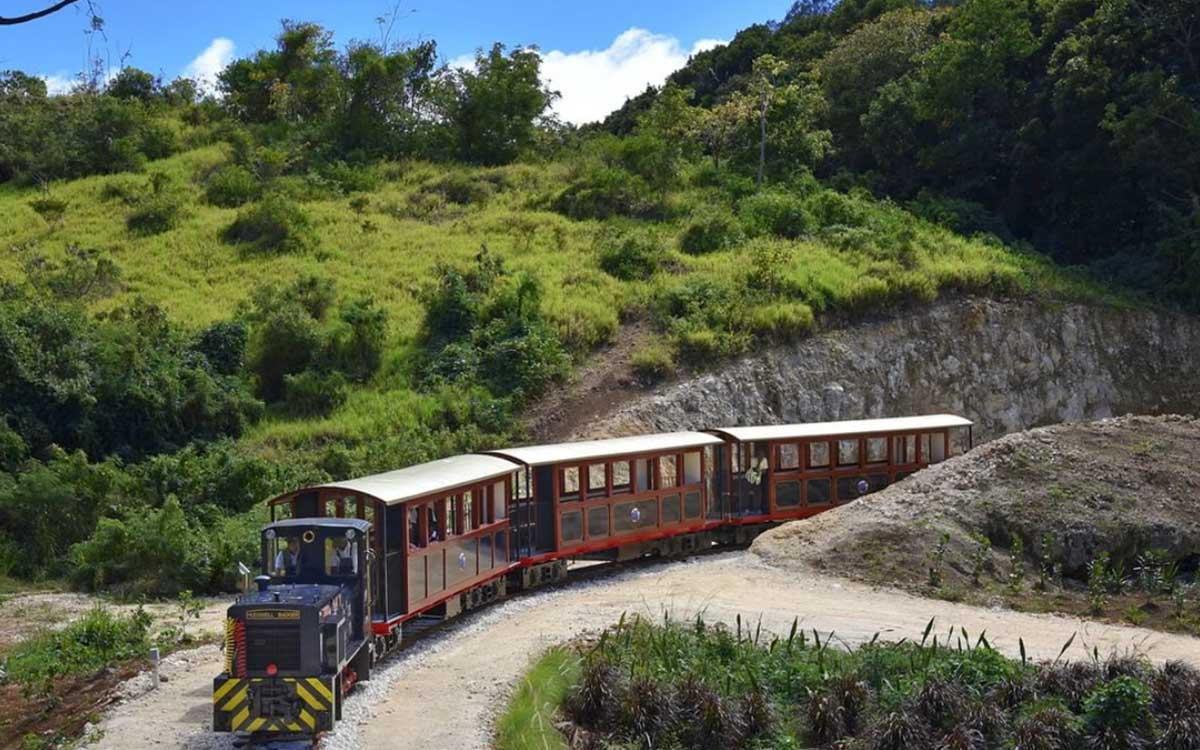 A Heritage Rum Railway Just Opened in Barbados