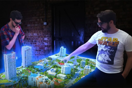 Be the Proud Owner of the World's First Hologram Table