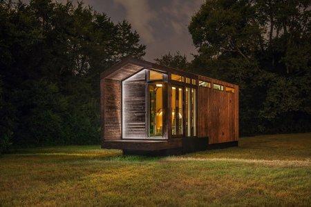 This Cedar-Clad Tiny Home Is Basically the World's Smallest Farmhouse