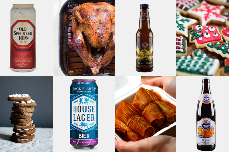 The Best Beers to Pair With All Your Favorite Holiday Snacks