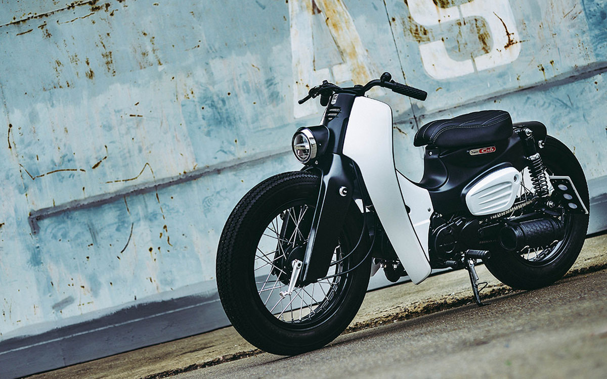 The Prettiest Damn Honda Super Cub You've Ever Laid Eyes On