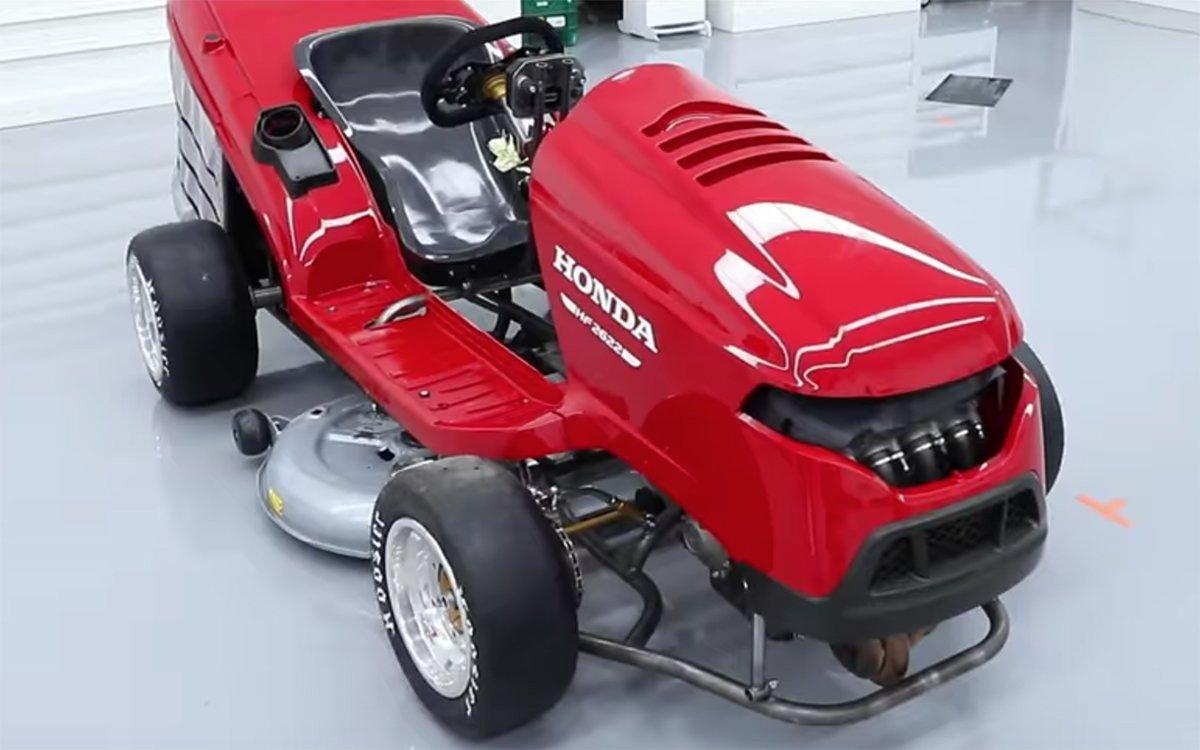 Honda Riding Lawnmower 189 HP Mean Mower - InsideHook