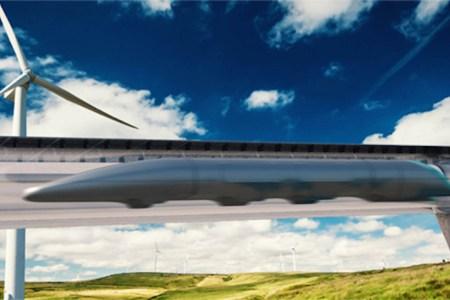 The World's First Hyperloop Train Is Fast En Route