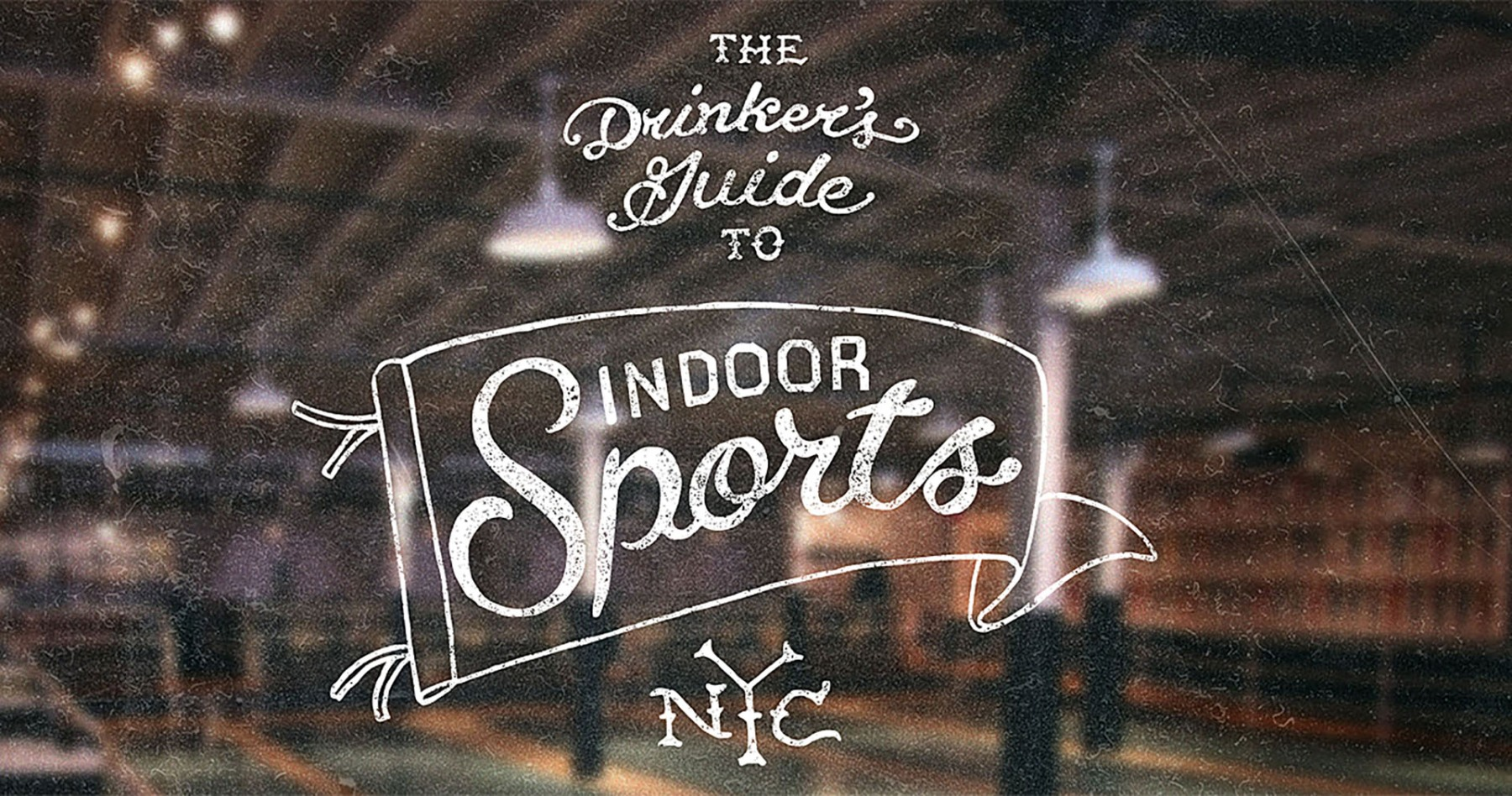 The Drinker's Guide to Indoor Sports