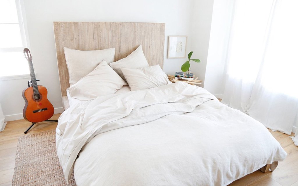 Got A Set Of Linen Sheets From An Upstart Bedding Company Called Loomstead Once We Spent Few Nights Swaddled I Knew Had Completed Our Quest For