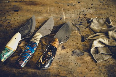 These Knives Almost Look as Good as They Cut. Almost.