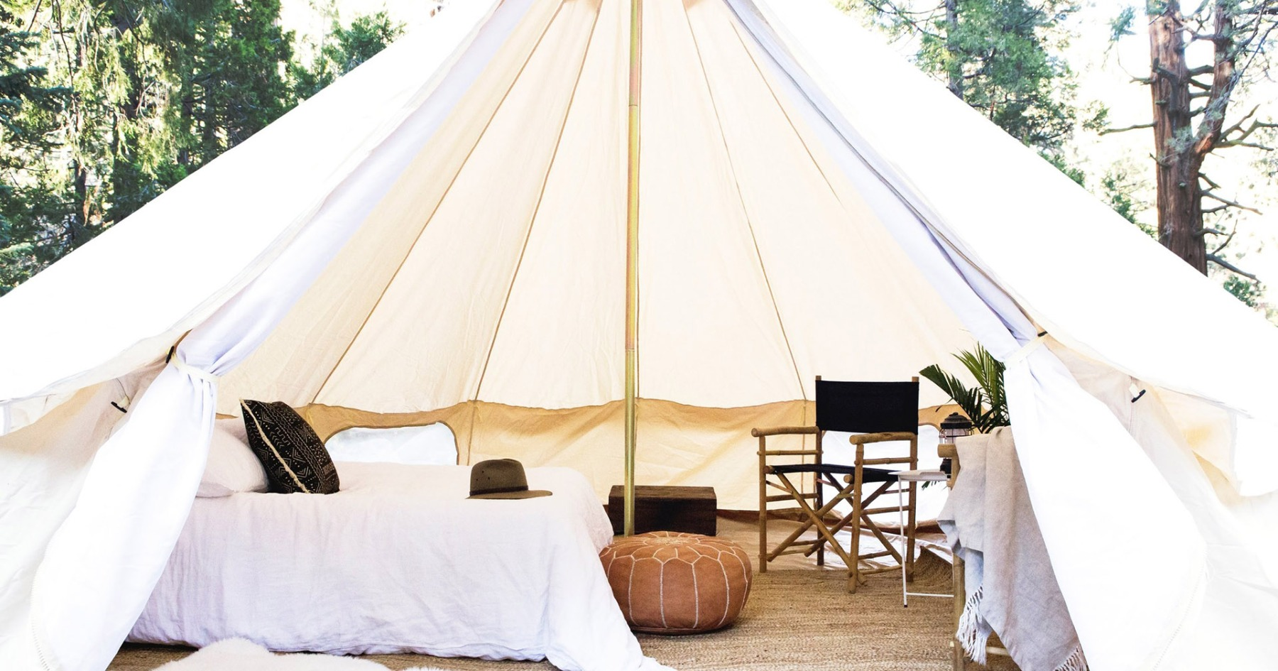 There's Now a Seamless for Safari-Style Campsites in LA