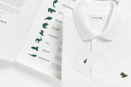 Lacoste Is Swapping Out the Croc to Help Save Endangered Species