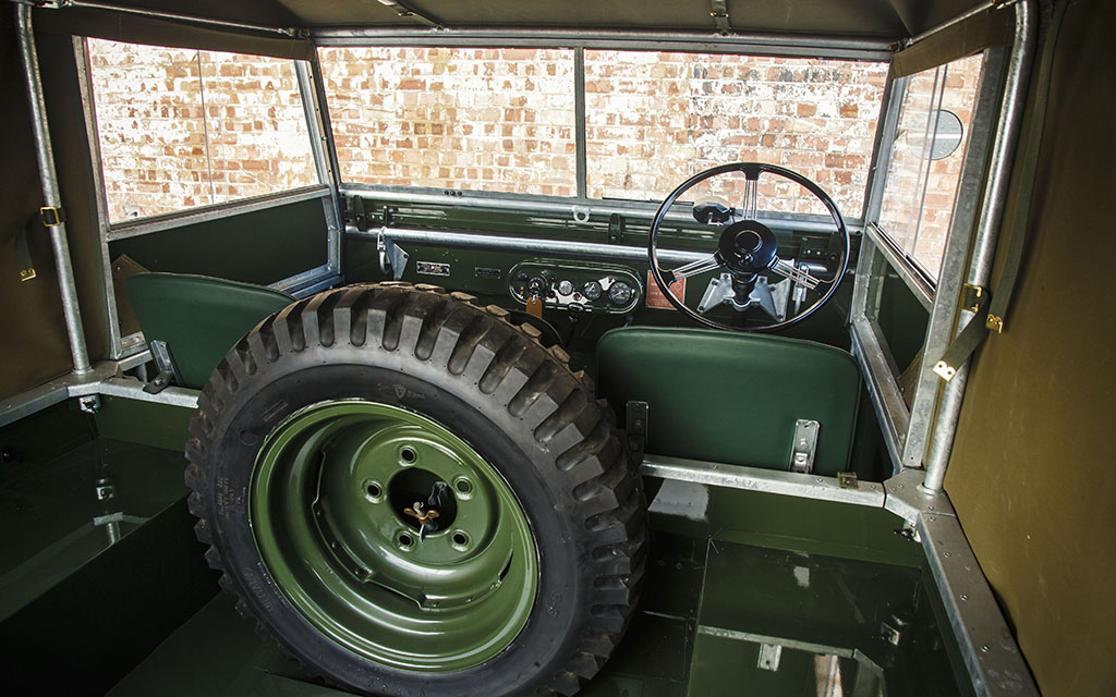 Land Rover Series 1s Being Restored by Classic Division