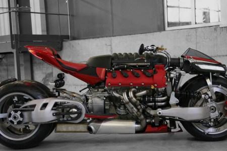 Four-Wheeled Motorbike Thinks It's a Maserati, Isn't Far Off