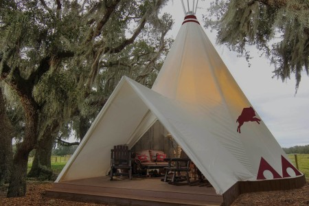 Teepee Resort Has AC, Butlers, Other Un-Teepee-Like Comforts