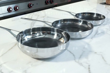 Blackbeard Stainless Steel Non-Stick Pans