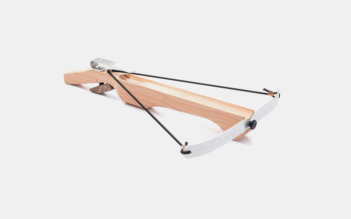 You Don't Need This Handmade Marshmallow Crossbow. But You Should Buy Two.